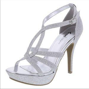 EUC Fioni Night Solver Glitter Comfortable Heels